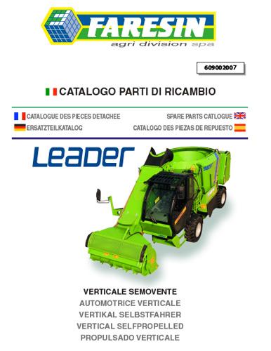 Leader avant 2013 - Pièces