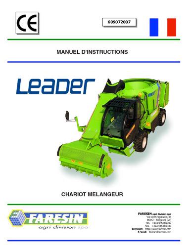 Leader manuel d'opérateur - Pièces