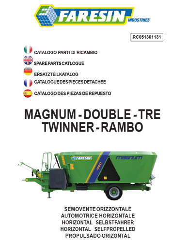 MAGNUM DOUBLE TRE TWINNER RAMBO 2013 - Pièces