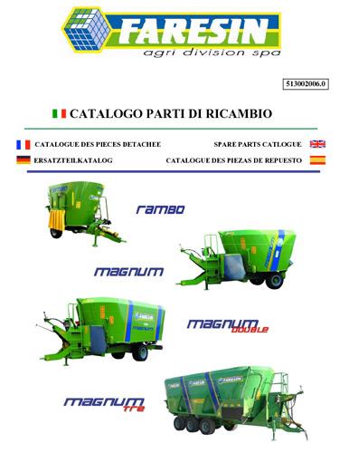Mixeur remorque Magnum avant 2013