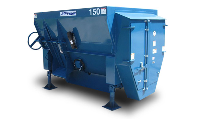 LuckNow horizontal mixers stationary