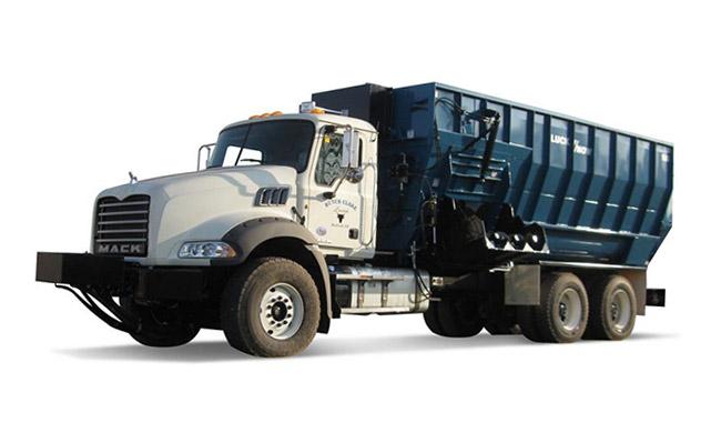 LuckNow horizontal mixers truck